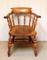 Elm And Beech Smokers Bow Armchair (2 of 10)