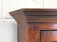 Early 19th Century Welsh Oak Panelled Corner Cupboard (5 of 7)