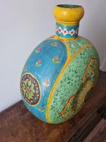Giant Hand Painted Flask (2 of 2)