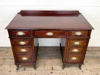Antique Mahogany Small Desk (3 of 10)