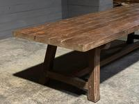 Huge Rustic French Oak Farmhouse Dining Table (5 of 35)