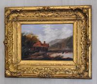 Victorian Oil Painting by B.L.Williams (2 of 8)