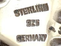 German Sterling Silver Table Owl - Antique c.1910 (9 of 12)