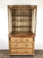 Antique Victorian Pine Dresser with Glazed Top (12 of 13)