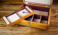 Beautiful Georgian Figured Walnut Jewellery Box 1800 (11 of 13)