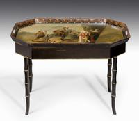 Mid-19th Century Tole Tray Table (5 of 5)