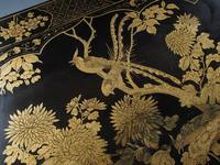 Chinese Gilded & Black Lacquered Desk (6 of 20)