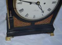 Brown, London Georgian Twin Fusee Bracket Clock (3 of 6)