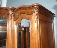 Large Oak French Triple Armoire (2 of 12)