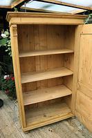 Fabulous Large Old Pine One Door Cupboard - Linen/Food/Kitchen/Larger/Wardrobe - We Del;iver! (4 of 11)