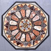 Antique Specimen Marble & Padouk Table (2 of 8)