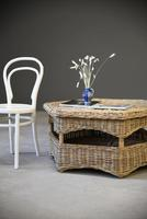 Large Natural Wicker Coffee Table (2 of 12)