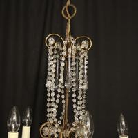 Italian Florentine Pair Of 5 Light Chandeliers (3 of 7)