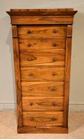 Regency Rosewood Wellington Chest of Drawers (3 of 10)