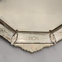19th Century Cut & Etch Venetian Mirror (9 of 10)