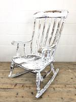 Antique Distressed Painted Rocking Chair (6 of 9)