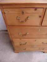 Mint Clean Georgian Small Antique Pine 5 Drawer Chest of Drawers (7 of 10)