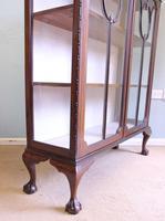 Antique Mahogany Glazed Display Cabinet (5 of 10)