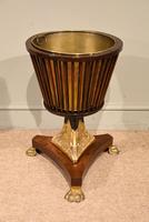 19th Century Dutch Mahogany Ice Bucket on Stand (2 of 7)