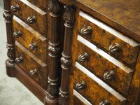 Pair of Victorian Figured Walnut Bedsides (8 of 10)