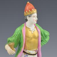 Pair of Samson Porcelain Figures of Ottomans / Turks after Meissen (10 of 13)