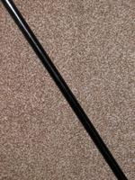 Antique Bone Crook Handled Walking / Dress Cane with Ebony Cane Shaft - 88cm (5 of 12)