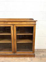 19th Century Glazed Walnut Bookcase (2 of 14)