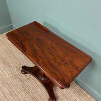 Quality Victorian Mahogany Double Sided, Reading / Music Table (7 of 8)