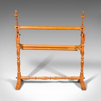 Antique Tapestry Stretcher, English, Beech, Needlepoint Frame, Victorian, 1900 (6 of 10)