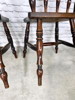 Superb Pair of Windsor Spindleback Side Chairs (5 of 6)