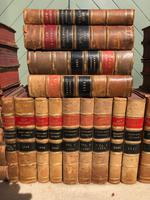 30 Antique Leather Bound Law Books 1919-1947 (3 of 6)
