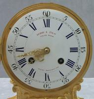 French Louis XV Style Bronze Gilt Mantel Clock by Leroy & Fils (2 of 8)
