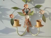Pretty Pair of Vintage Metal Wall Sconce (6 of 6)