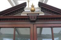 Mahogany Flame Astral Glazed Corner Cupboard 1780 (9 of 10)