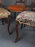 Set of 6 Mid Victorian Rosewood Dining Chairs (8 of 14)