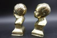 Pair of Late 19th Century Miniature French Brass Paperweights (5 of 5)