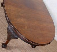 Oak Dining Table & 6 Chairs Telescopic 19th Century (17 of 19)
