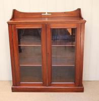 Mahogany Display Bookcase (4 of 9)
