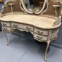 Grand Scale Italian Painted Dressing Table (7 of 8)