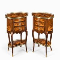 Pair of French Rosewood Occasional Tables (3 of 8)