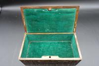 Beautifully Cast Late 19th Century Continental Bronze Jewellery Box (5 of 6)