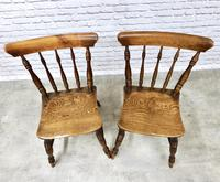 Superb Pair of Windsor Spindleback Side Chairs (3 of 6)