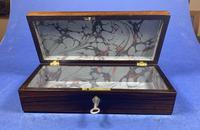 William IV Rosewood Glove Box (5 of 10)