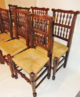 Set Of Lancashire Ladder Back Dining Chairs (3 of 7)