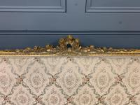 19th Century French Giltwood Settee (6 of 15)