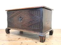 Antique Oak Coal Box or Scuttle (9 of 11)