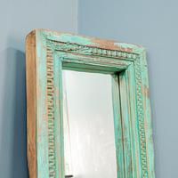 Painted Teak Mirror (2 of 6)