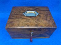 Walnut Jewellery Box c.1900 (4 of 14)