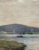 Andrew Gamley RSW - A Lochside Village Watercolour Painting (9 of 12)