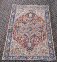Old Heriz Carpet 335x214cm (8 of 9)